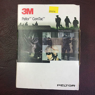 3M PELTOR ComTac XP MT20H682FB-02 OLIVE Green NEW boxed MTP army ISSUED surplus