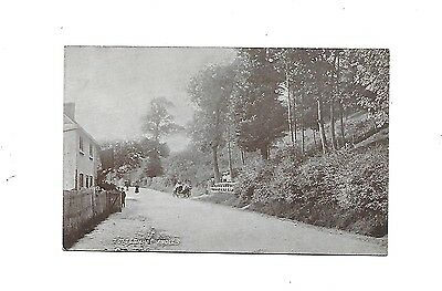 TOTTERNHOE KNOLLS Dunstable Early Animated Bedfordshire Postcard