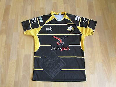 Raven Sport BRAMLEY Buffaloes PLAYER Issue RUGBY League SHIRT Adult Size M