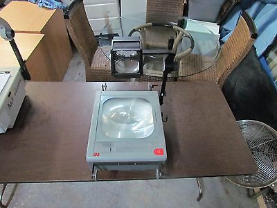 3M 9100 Overhead Projector With Transparency Reels