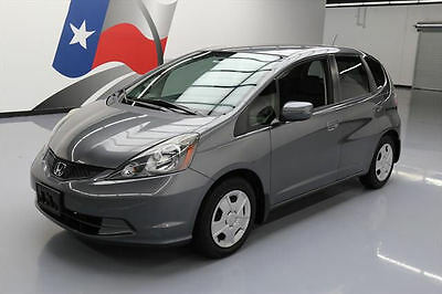 2013 Honda Fit Base Hatchback 4-Door 2013 HONDA FIT HATCHBACK AUTO CRUISE CTRL CD AUDIO 31K #065587 Texas Direct Auto