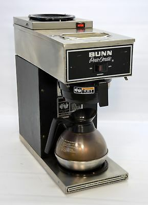 Bunn C-12 Pour-Omatic 12-Cup Pourover Automatic Coffee Brewer Machine 2 Warmers