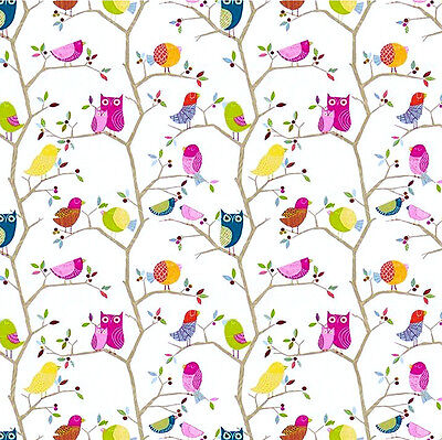 3 sheets of Dolls House Wallpaper 1/12th scale Birds Quality Paper #312