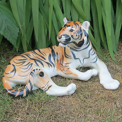 Vintage RUSSIAN USSR LOMONOSOV TIGER LARGE FIGURINE In Excellent Condition