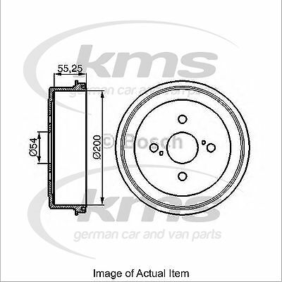 New Genuine BOSCH Brake Drum 0986477082 Top German Quality