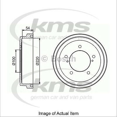 New Genuine BOSCH Brake Drum 0986477236 Top German Quality