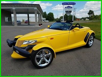 2002 Chrysler Prowler Base Convertible 2-Door 2002 Chrysler Prowler 3.5L V6 24V Automatic Only 2K Miles 1-Owner 02