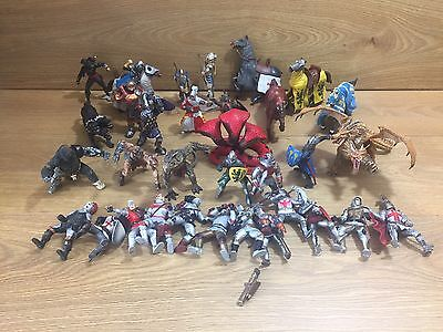 PAPO, ELC & Schleich Figures Dragon, Knights, Horses, Monsters, Dragon, Snakes