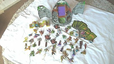 Monster In My Pocket Haunted Mountain Playset With Figures Working  Vgc