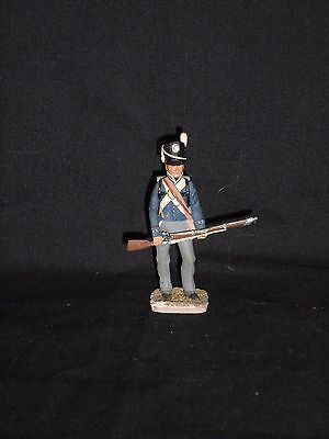 Toy Soldier Lot 57. Painted 54Mm Painted White Metal Figure.