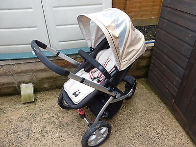 Mothercare My3 Pram / Pushchair / Travel System + Maxi-Cosi Car Seat