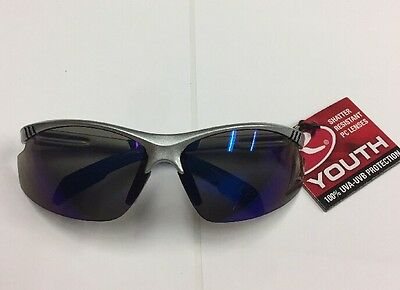 Rawlings 109 Gray Blue Youth Sport Sunglasses UV protection impact resistant