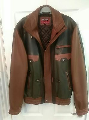Men's Xl Designer Leather Jacket