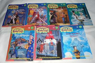 Set of 7 The Bailey City Monsters series books