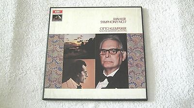 Klemperer - Mahler Sym No 7  - Original Emi Asd 2491-2 Ed1      Near Mint