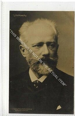 (Ga8364-477) Real Photo of Musical Composer, Tschaikowsky c1920 VG-EX