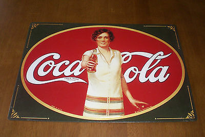 Coke Coca Cola Tin Sign