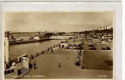 (Ga8529-477) Real Photo of The Pier Head, Liverpool c1940 VG