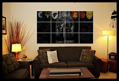 Game Of Thrones Wall Art Poster Picture Image Photo Print
