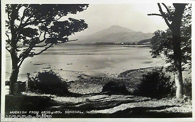 MUCKISH FROM ARDS CO DONEGAL POSTCARD 1930's IRELAND