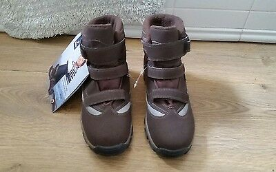tchibo all weather walking/hiking boots size 5/6 eu 38/39 in brown