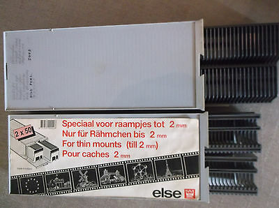 Slide Projector Cassette Tray 50 Slides with Storage Box