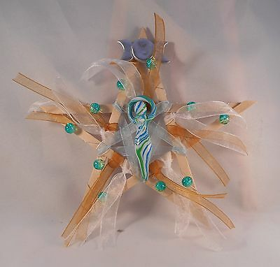 Pagan Wicca Druid handmade by LM Altar Ritual Pentagram of the Goddess
