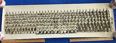 Rare ID'd WWII Air Corps Yard Long Photo - Bomber & Fighter Pilots - KIA - POW