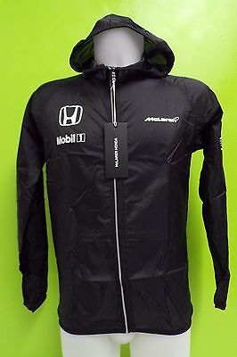 McLAREN HONDA TEAM ULTRA-LIGHT WATER REPELLENT JACKET MENS SMALL