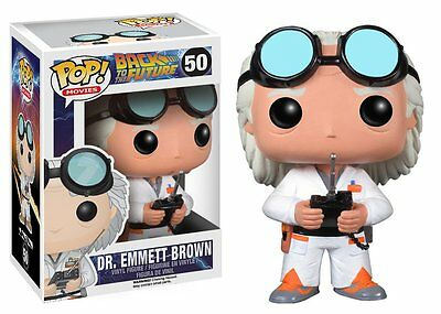 Funko POP ! Back to the Future  Dr. Emmett Brown  50 Ritorno al futuro