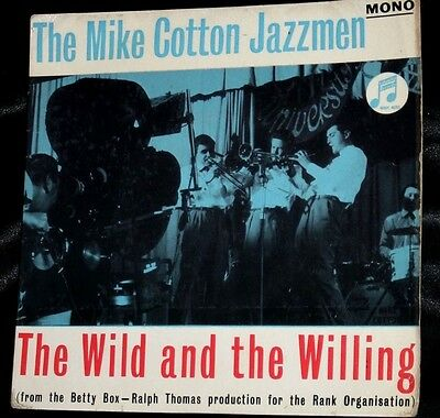 Mike Cotton Jazzmen EP JAZZ The Wild And The Willing SOUNDTRACK