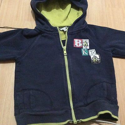 Boys Ted Baker Hoody Age 18-24 Months