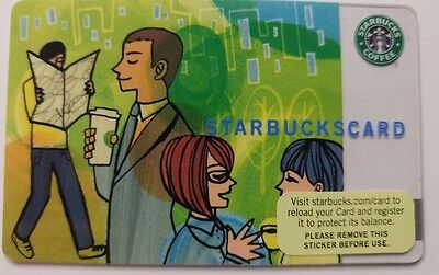 Starbucks Card, 2006, Coffee Connections Series 6056                        (K)