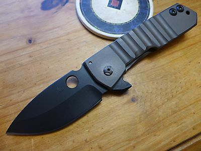 Crusader Forge Knife FIFP GR-38 Ti - Black Finish CPM-3V - Authorized Dealer