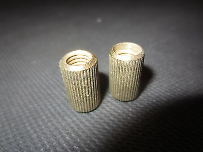 Set of [2] Vintage Gibson Cradles for Posts Tune-O-Matic Type Guitar Bridge
