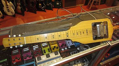 Vintage Circa 1949 National Lap Steel w/ Original Soft Case Plays Sounds Great!