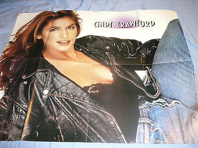 CINDY CRAWFORD PIN UP POSTER PHOTO AFFICHE 21 x 26