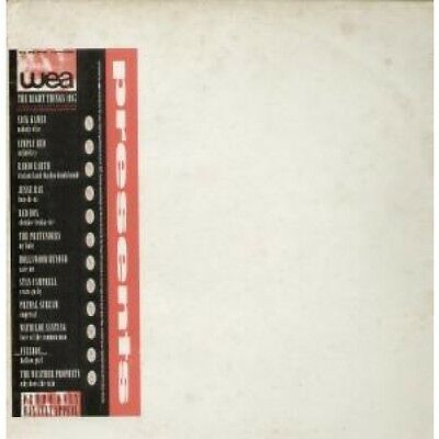 WEA PRESENTS RIGHT THINGS 1987 Various LP VINYL UK Wea 12 Track Promo Featuring