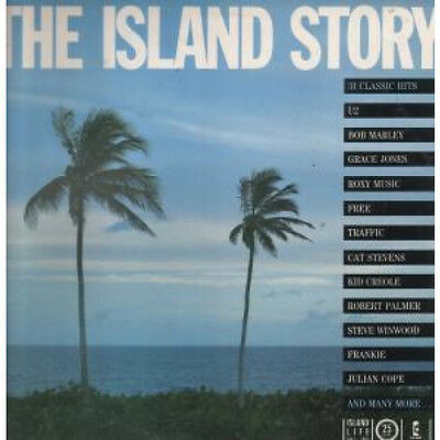ISLAND STORY Various Artists DOUBLE LP VINYL UK Island 31 Track Double In Promo