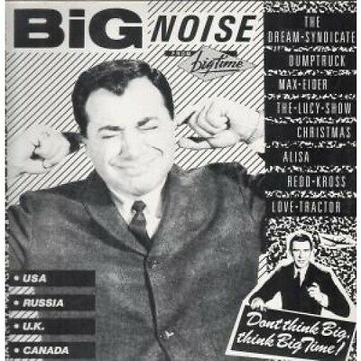 BIG NOISE COMPILATION Various LP VINYL UK Big Time 8 Track Featuring Lucy Show