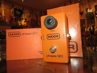 Vintage Circa 1980 MXR Phase 90 Phase Shifter Effects Pedal Sounds incredible