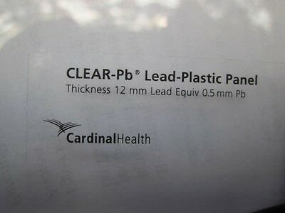 Clear-lead Acrylic Mobile X-Ray Barrier with Window