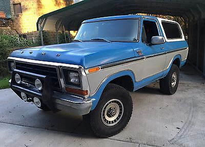 1979 Ford Bronco XLT Ranger 4X4 V8 1979 Ford Bronco XLT Ranger 4wd fully restored better than new drive anywhere!