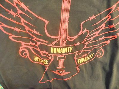 U2 T-Shirt 2011 Amnesty International 50 Years Size XL Justice Humanity Equality