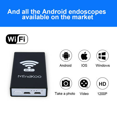 MindKoo WIFI Launch Box for Endoscope Borescope Microscope Cam 1200p IOS Android