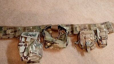 war belt molle multicam