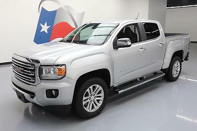 2016 GMC Canyon  2016 GMC CANYON SLT CREW 4X4 HTD LEATHER REAR CAM 8K MI #140775 Texas Direct