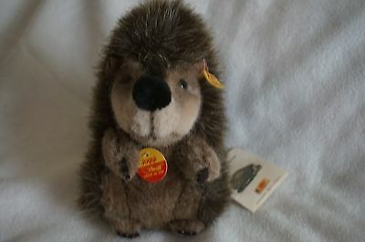 Vintage Steiff plush Hedgehog w/tags
