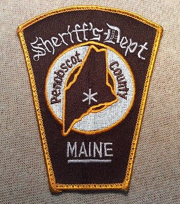 ME Penobscot County Maine Sheriff Patch