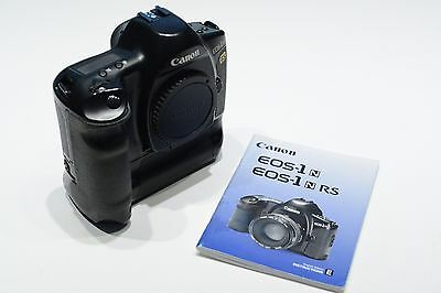 Canon EOS-1n RS 35mm film Camera TESTED WORKING 10 FPS